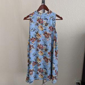 Light blue flower dress